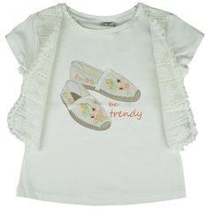 Honey & Clover Kidswear / Children's Apparel | Bohemian Crudo Top by Mayoral