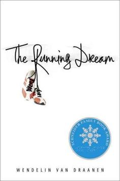 The running dream by Wendelin Van Draanen.  Click the cover image to check out or request the teen kindle.