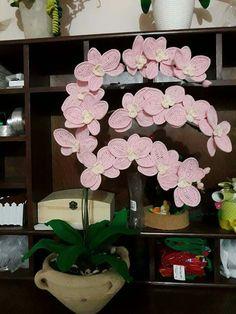 Orchidea eseguita dalla mia amica Mirella chiominto