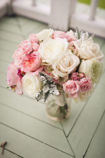 loverly... reminds me of my wedding boquet