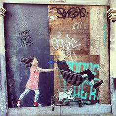 Mural by Ernest Zacharevic