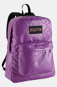 Sparkle With Personality!  Jansport Backpack (Girls) available at #Nordstrom