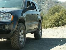 WK Lift kit, Jeep Grand Cherokee, WK 2005, 2006, 2007, 2008, 2009, 2010 Suspension lift