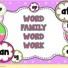 Word families -Boggle Style!  The Teaching Bug!