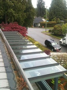 Glass Canopies | Ridge, Shed, Entryway, we design & install | Thunderbird Glass & Aluminum Inc. Serving North, West & Greater Vancouver