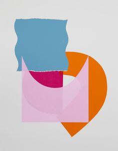 Cut paper and silkscreen on bristol board by Chad Kouri