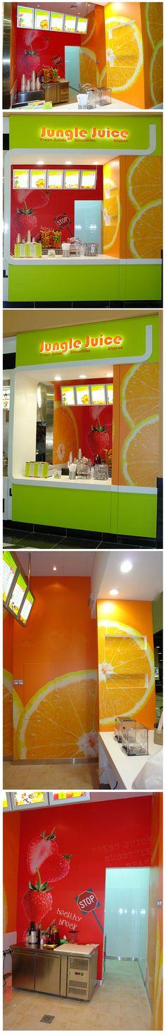 jungle juice store branding