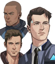 Paranormal, Face Study, Human Reference, Drawing Reference, I Like Dogs, Detroit Become Human, Human Art, Boy Art, Male Face