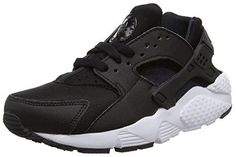 timeless design 173c3 a8a6c Nike Huarache Run GS Youth Round Toe Synthetic Black Running Shoe 7   Hope  that you actually love our image. (This is our affiliate link)