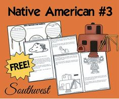 native americans - Southwest Tribes - includes 2 free printable books on the Navajo and Hopi), tribe comparisson, and ideas for hands on history for kids 5th Grade Social Studies, Social Studies Activities, Teaching Social Studies, Science Activities, Native American Lessons, Native American Projects, American History, American Crafts, History For Kids