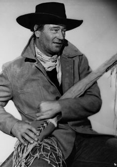 THE SEARCHERS (1956) - John Wayne as 'Ethan Edwards' - Directed by John Ford - Warner Bros. - Publicity Still.