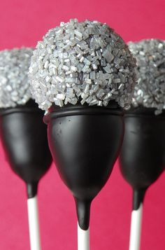 Microphone cake pop, where were these when Pierce had a Rock Star party?
