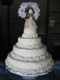 1960s+Wedding+Cakes | 1960's Replica Wedding Cake