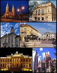 Szeged (pr. seh-ged) #Hungary