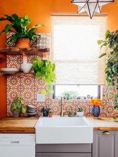 nice 42 Wonderful Kitchen Backsplash Decoration Ideas  http://decorke.com/2018/04/02/42-wonderful-kitchen-backsplash-decoration-ideas/