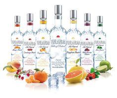 Finlandia Vodka of Finland ... Oma makuvaihtoehto jokaiselle viikonpäivälle =D #viina #alkoholi #mainos