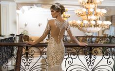 """We love a bridal collection that offers a mix of glamour and whimsy! And the dreamy Naama & Anat 2018 """"The Star In You"""" Collection offers that and much more"""