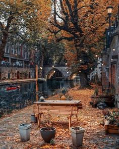 r/europe - Utrecht, the Netherlands. Utrecht, Day And Time, Night Time, Cozy Place, Survival Tools, Vacation Trips, Vacations, Autumn Leaves, Travel