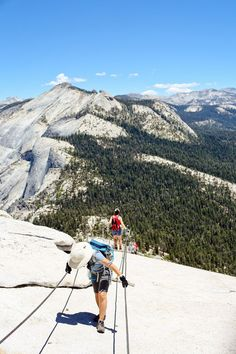 Hiking to half dome at yosemite national park was the most challenging one day hike I have ever been on. California Attractions, Visit California, California Travel, Sequoia National Park, National Parks, Las Vegas, Voyage Usa, Scenic Photography, Night Photography