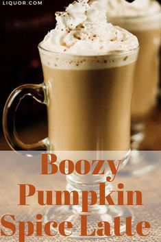 Learn how to make your own boozy pumpkin spiced latte this fall season! This crockpot recipe is perfect for a family gathering or weekend brunch! Thanksgiving Cocktails, Halloween Cocktails, Winter Cocktails, Christmas Cocktails, Holiday Cocktails, Liquor Drinks, Fun Drinks, Beverage, Rum Recipes