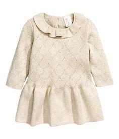 Finstickad klänning 179 kr från H&M
