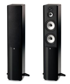 "Boston Acoustics A 360 Dual 6.5-Inch Woofer Three-Way Floor Standing Speaker (Each, Gloss Black) $ 399.00 Home Audio Speakers Product Features Scratch-resistant high-gloss finish with contrasting ""leatherette"" accents for stunning good looks. Boston's 1-inch Kortec soft dome tweeter deliver smooth, extended high frequency response. Advanced ceramic/glass fi .. http://www.speakersstore.com/boston-acoustics-a-360-dual-6-5-inch-woofer-three-way-floor-standing-speaker-each.."