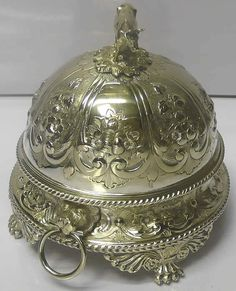 Victorian Silver Plated Butter Dish for sale - waxantiques online gallery of antique silver