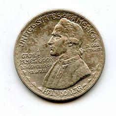 1928 Hawaii Commemorative Silver Half Dollar by Reliquarious, $1550.00