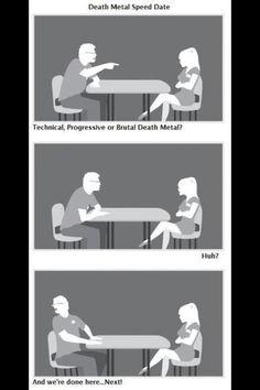 heavy metal speed dating
