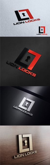 Lion Locks! One day will be big.... We need an amazing Logo to help us get there!! by Ayres.