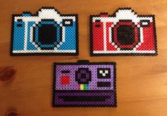 Camera coasters
