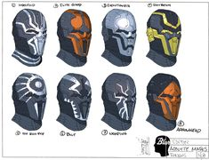 Sith Acolyte Masks, Chuk Wojtkiewicz on ArtStation at https://www.artstation.com/artwork/sith-acolyte-masks
