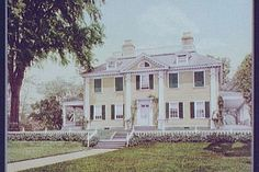 A literary road trip through New England - Longfellow House in Cambridge