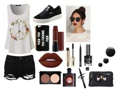 """""""#HalloweenIsComing..."""" by sami-paradise ❤ liked on Polyvore featuring Boohoo, Puma, Lime Crime, L'Oréal Paris, NARS Cosmetics, Yves Saint Laurent and Ted Baker"""