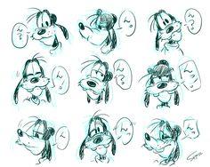 my-log - らくがき。 Cartoon Sketches, Disney Sketches, Cartoon Art Styles, Cartoon Design, Disney Drawings, Drawing Disney, Famous Cartoons, Retro Cartoons, Old Cartoons