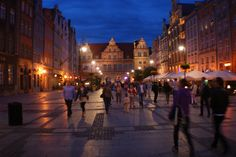 This time the city of Gdańsk. In every season it is beautiful.