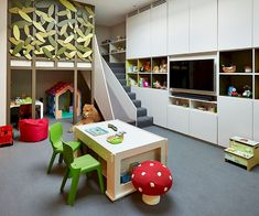 Nowadays, attic rooms are really modern. They are the best place for kids room but also for bedroom. During the winter the room is war