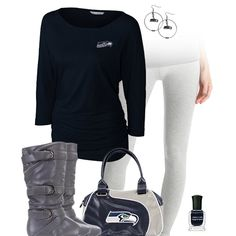 Seattle Seahawks Leggings Outfit
