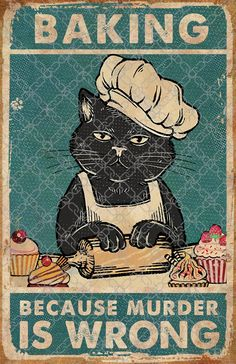 I Love Cats, Cute Cats, Funny Cats, Funny Animals, Cute Animals, Crazy Cat Lady, Crazy Cats, Dessin Old School, Cat Posters