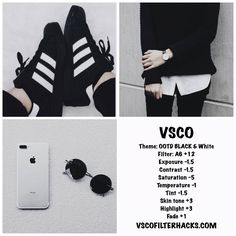 35 VSCO Filters for Black and White Instagram Feed - VSCO Filter Hacks