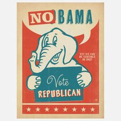 No Bama 18x24 now featured on Fab.