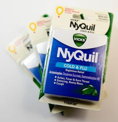 Vicks NyQuil Cold & Flu Nighttime Relief (Pack of 3)