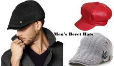 f3ee5203f92f9 The history of beret hats goes long back in the history. Nowadays  fashionable men s beret