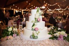Photography: Sarah Kate, Photographer - sarahkatephoto.com Wedding Cake: Panini Bakery - paninicakes.com   Read More on SMP: http://www.stylemepretty.com/2016/03/07/whimsical-ranch-wedding-in-texas/