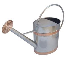 It is of classic style. It is with the usage of watering. It helps to make planting easier. Plastic Watering Can, Indoor Watering Can, Metal Watering Can, Watering Cans, Planting Succulents, Potted Plants, Plant Pots, Olive And June, Outside Decorations