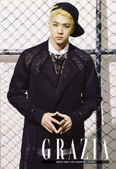 MBLAQ Thunder and Seung Ho - Grazia Magazine March Issue '14