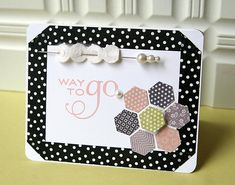 Way to Go card by Danielle Flanders