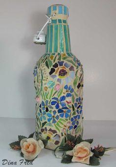 1000 images about botellas on pinterest manualidades pintura and painted bottles - Botellas decoradas manualidades ...