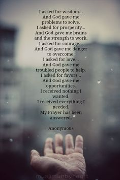 cococoda: muslimahbyheart: I really love this poem.. :) it's so beautiful and true in every way. Beautiful. Nice said♥