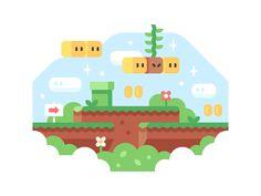 Super Mario World by Alex Pasquarella